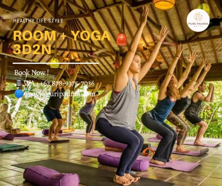 room and yoga